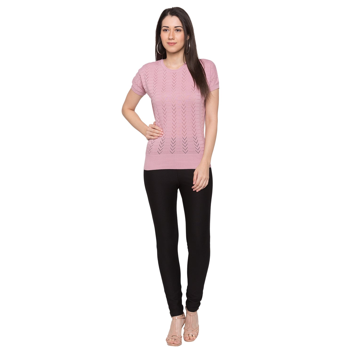 Globus Pink Knitted Top4