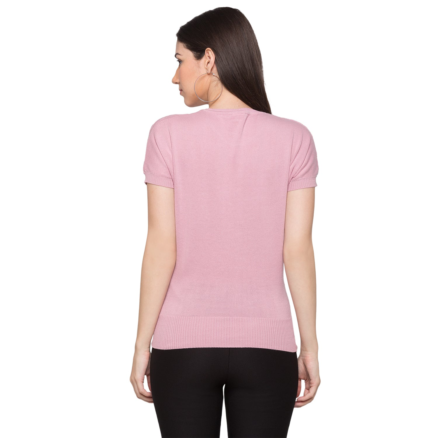 Globus Pink Knitted Top3