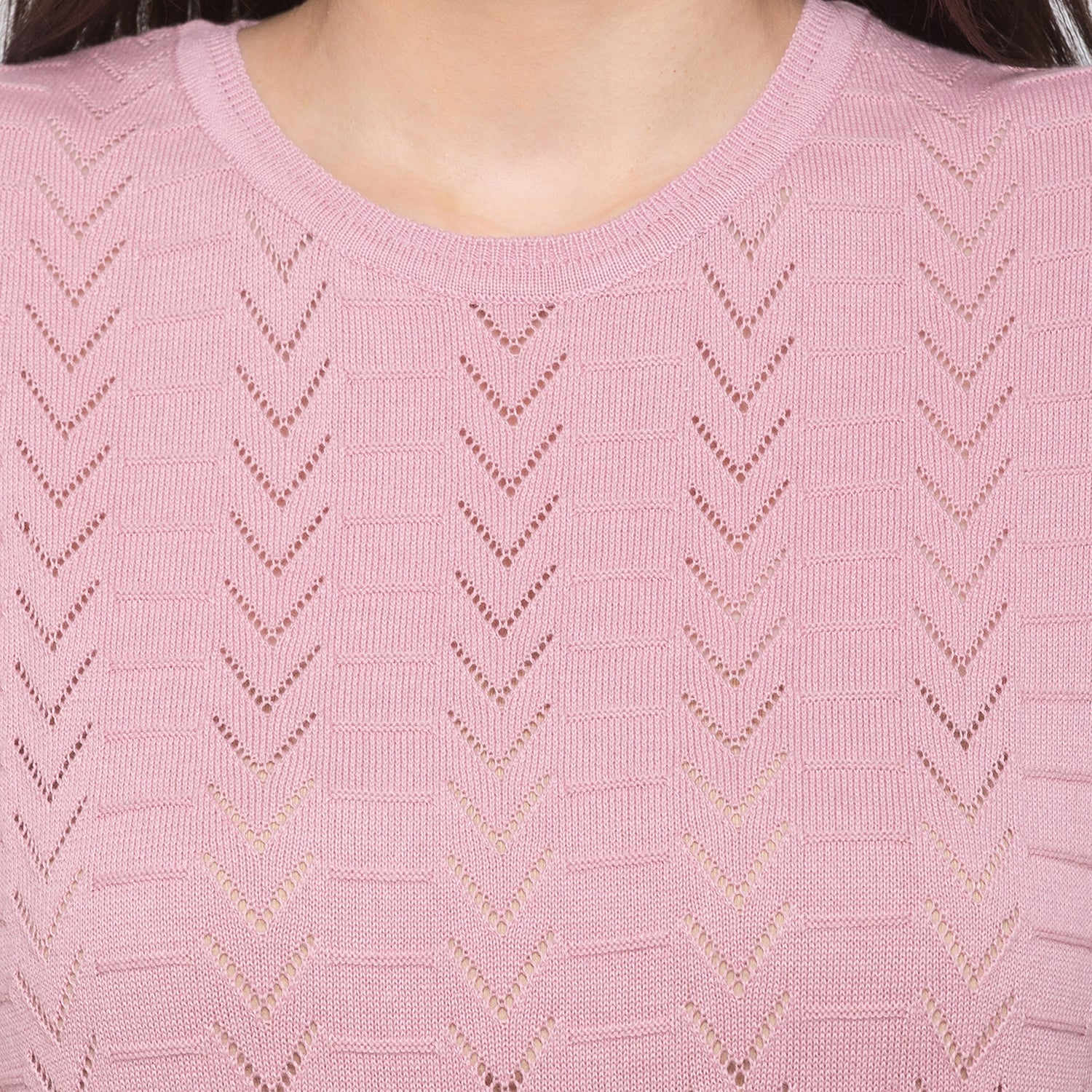 Globus Pink Knitted Top5