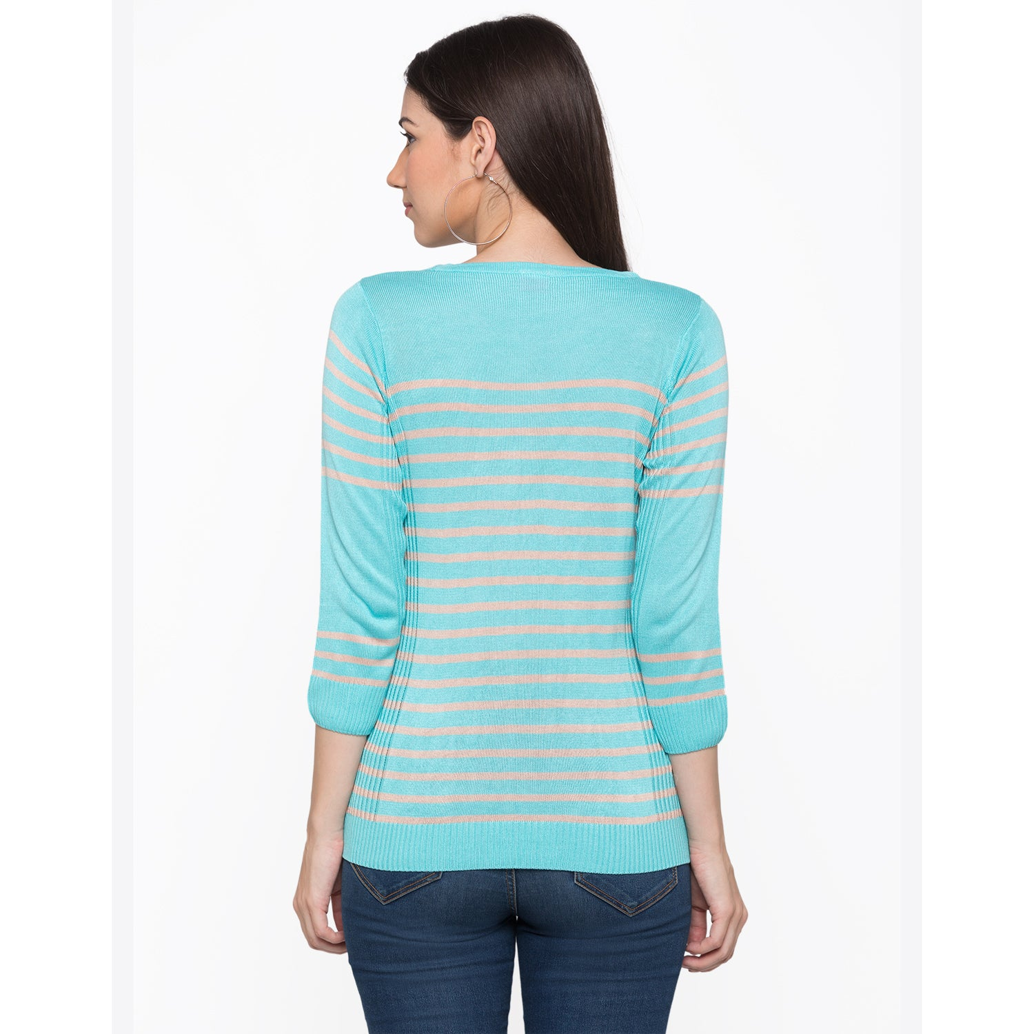 Globus Blue Striped Top3