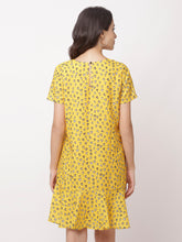 Load image into Gallery viewer, Globus Yellow Bohemian Casual Dress-3