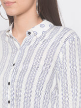 Load image into Gallery viewer, Globus White Printed Tunic-5