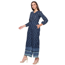 Load image into Gallery viewer, Globus Blue Printed Jumpsuit-2