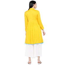 Load image into Gallery viewer, Yellow Solid Tunic-3