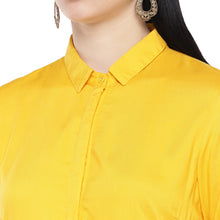 Load image into Gallery viewer, Yellow Solid Tunic-5