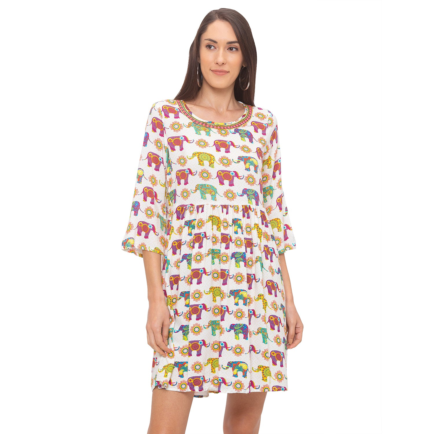 Globus Multi Printed Dress-1