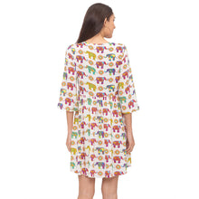 Load image into Gallery viewer, Globus Multi Printed Dress-3