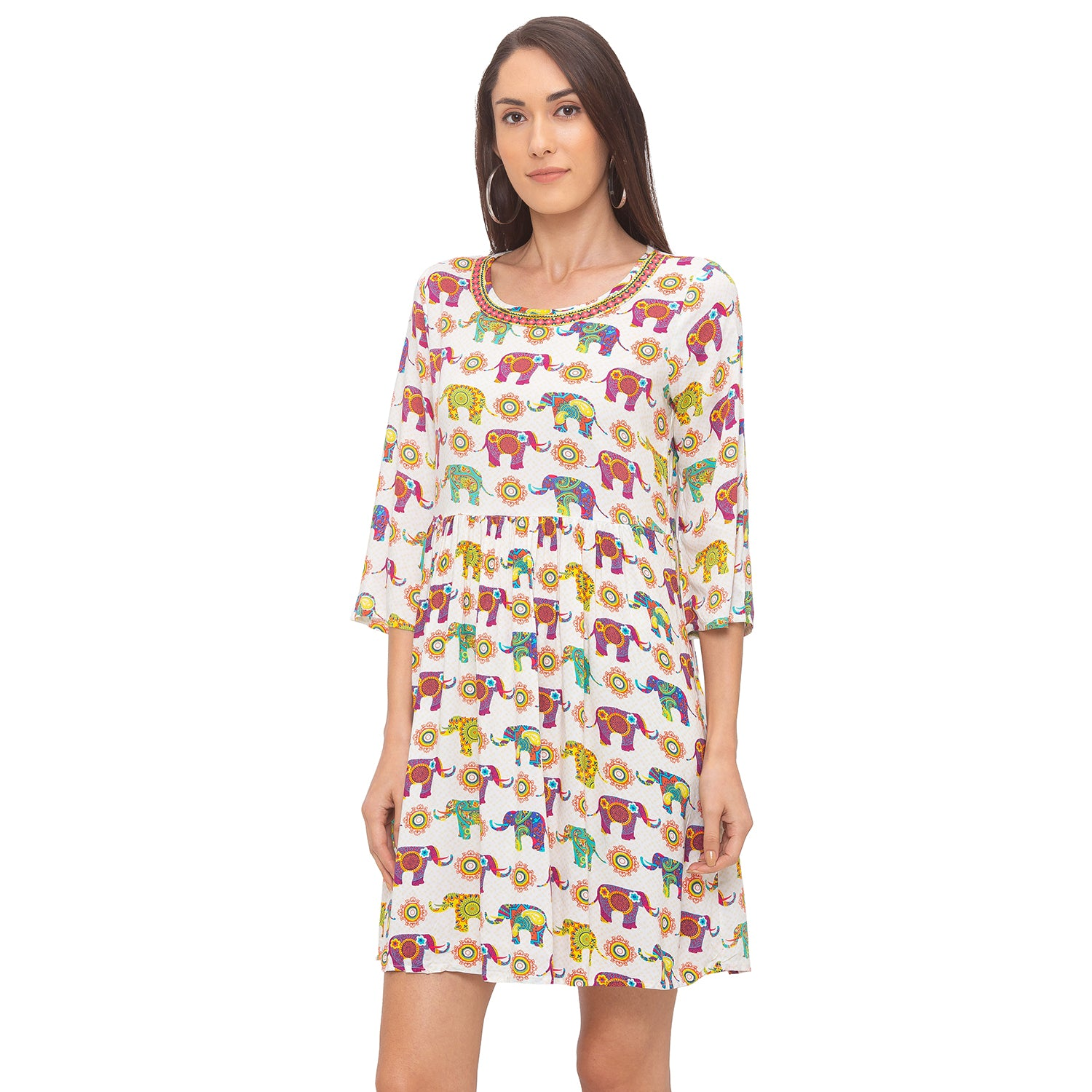 Globus Multi Printed Dress-2