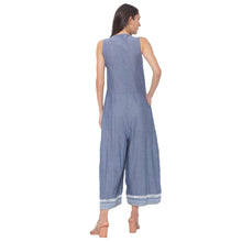 Load image into Gallery viewer, Globus Grey Printed Jumpsuit-3