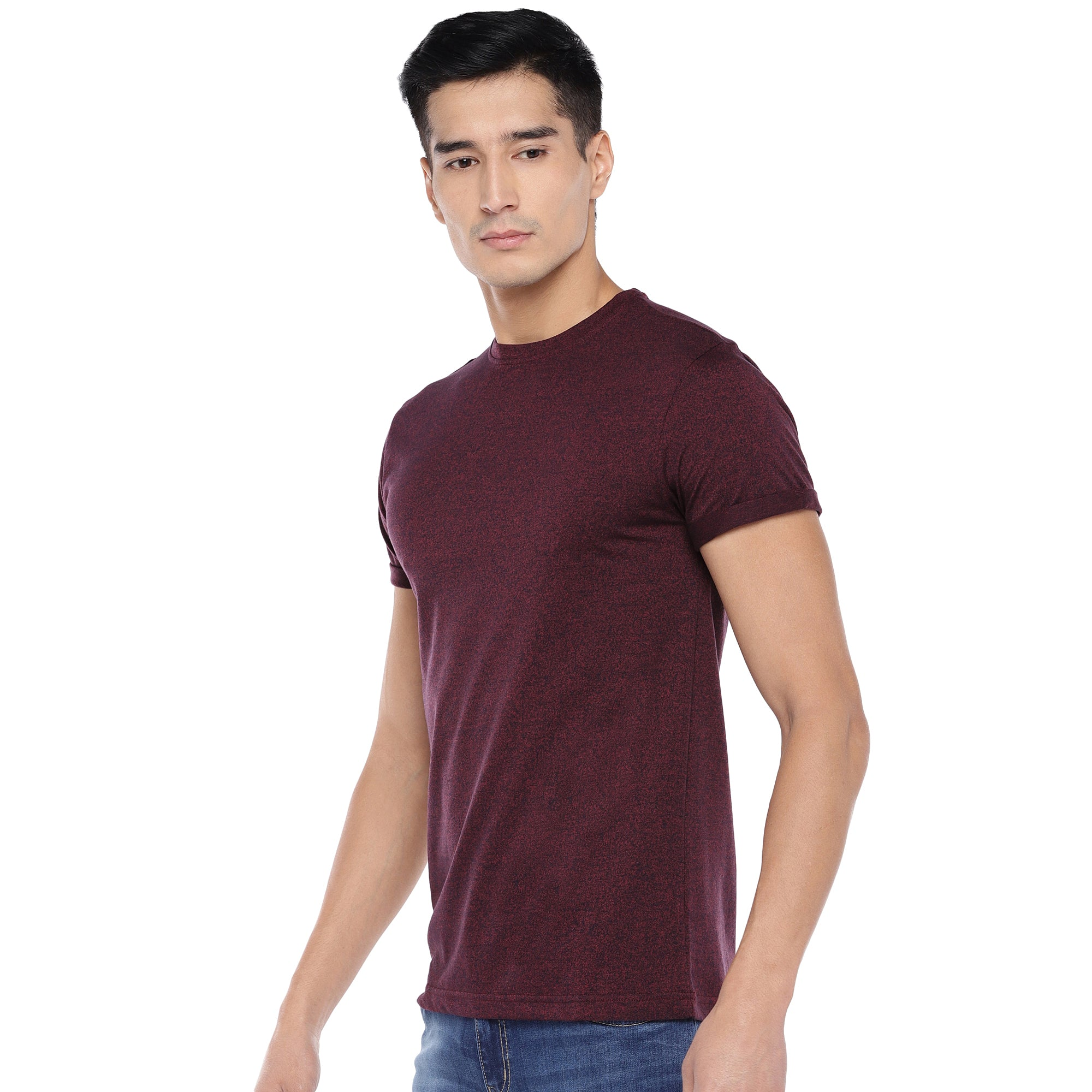 Red Solid T-Shirt-2
