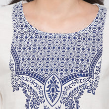 Load image into Gallery viewer, Globus White Printed Kurta5