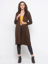 Load image into Gallery viewer, Globus Black Striped Shrug-4