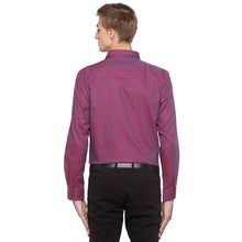 Load image into Gallery viewer, Solid Slim Fit Maroon Shirt-3