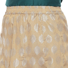 Load image into Gallery viewer, Gold Printed Maxi Skirt-5