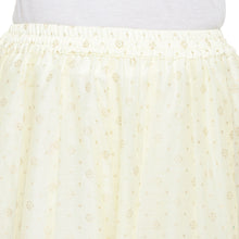 Load image into Gallery viewer, Cream-Coloured Self-Design Flared Maxi Ethnic Skirt-5