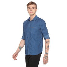 Load image into Gallery viewer, Slim Fit Denim Shirt-2