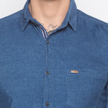 Load image into Gallery viewer, Slim Fit Denim Shirt-5