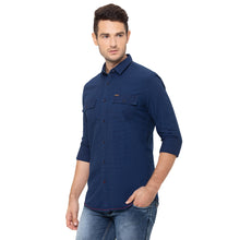 Load image into Gallery viewer, Globus Blue Solid Shirt-4