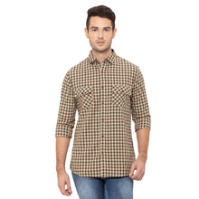 Load image into Gallery viewer, Globus Khaki Checked Shirt-1