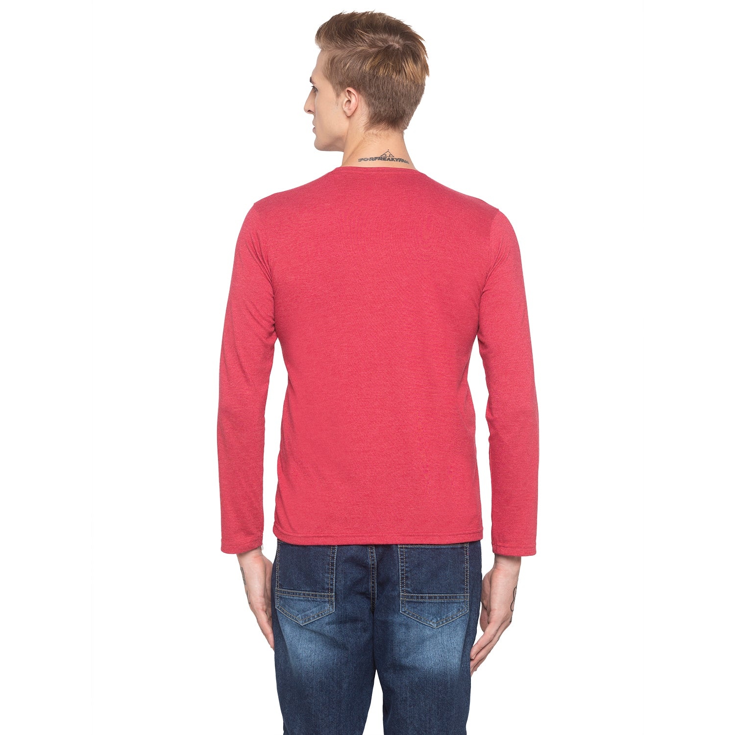 Adventure Full Sleeve Red T-shirt-3