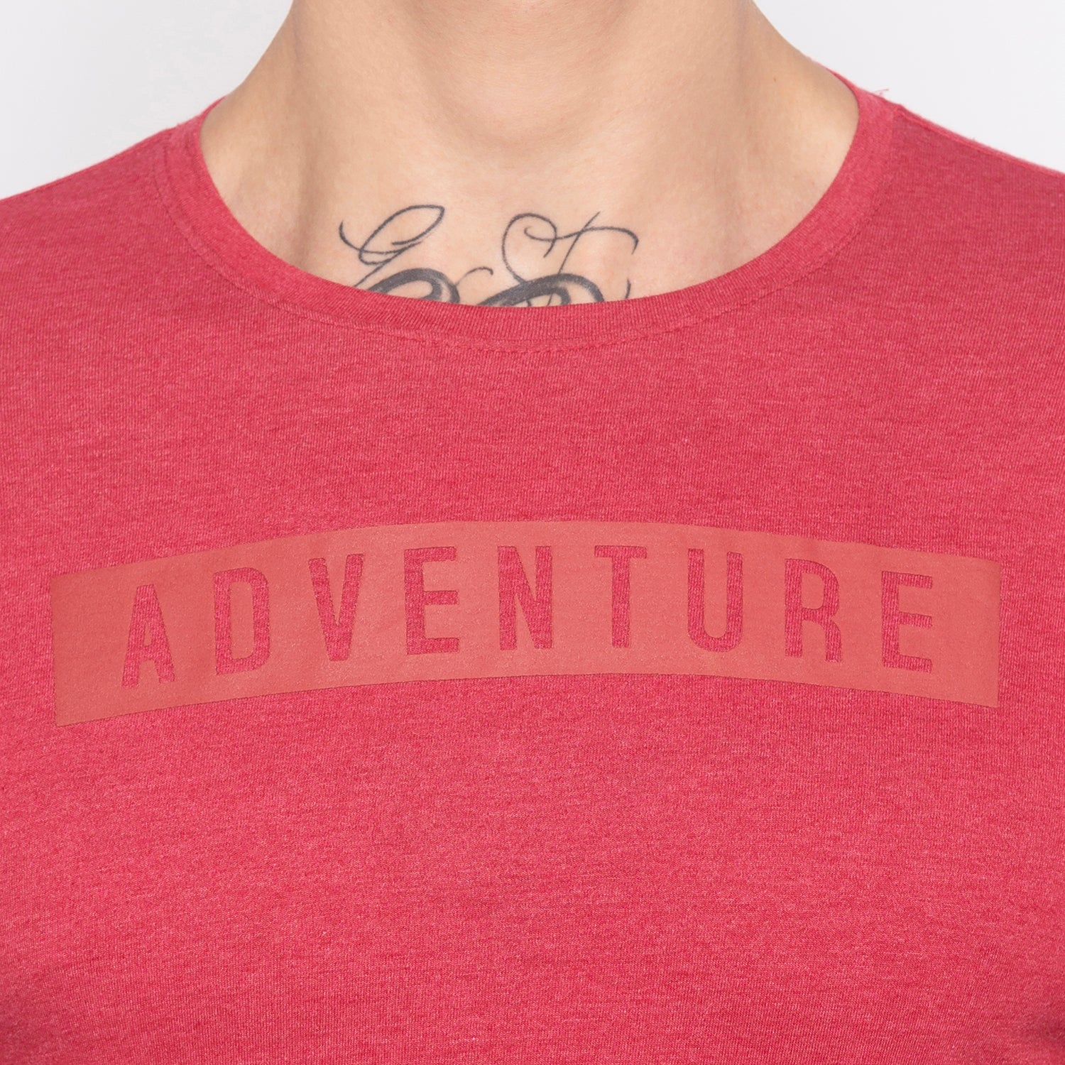Adventure Full Sleeve Red T-shirt-5