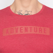 Load image into Gallery viewer, Adventure Full Sleeve Red T-shirt-5