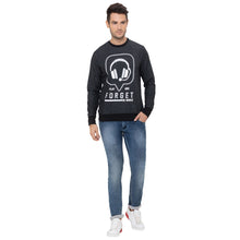 Load image into Gallery viewer, Globus Black Printed Sweatshirt-2