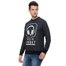 Load image into Gallery viewer, Globus Black Printed Sweatshirt-4