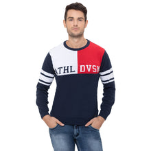 Load image into Gallery viewer, Globus Navy Blue Printed Sweatshirt-1