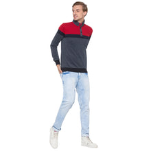 Load image into Gallery viewer, Globus Grey & Red Colourblocked Sweatshirt-4