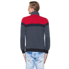 Load image into Gallery viewer, Globus Grey & Red Colourblocked Sweatshirt-3