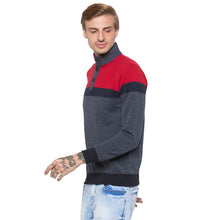 Load image into Gallery viewer, Globus Grey & Red Colourblocked Sweatshirt-2