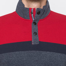 Load image into Gallery viewer, Globus Grey & Red Colourblocked Sweatshirt-5