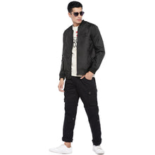 Load image into Gallery viewer, Black Solid Jacket-4