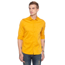 Load image into Gallery viewer, Solid Mustard Casual Shirt-1
