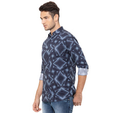 Load image into Gallery viewer, Globus Blue Printed Shirt-4