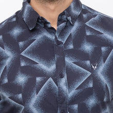 Load image into Gallery viewer, Globus Blue Printed Shirt-5