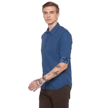 Load image into Gallery viewer, Window Pane Checked Blue Shirt-2