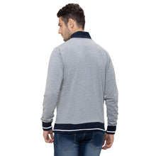 Load image into Gallery viewer, Globus Grey Striped Sweatshirt-3