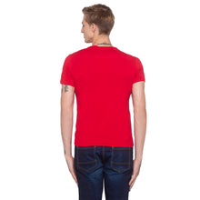 Load image into Gallery viewer, Foil Print Red Party T-shirt-3