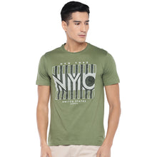 Load image into Gallery viewer, Olive Printed T-Shirt-1