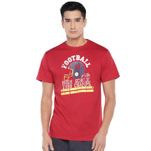 Load image into Gallery viewer, Red Printed T-Shirt-1