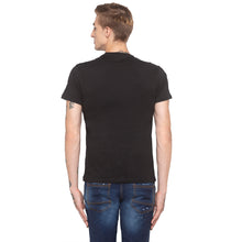 Load image into Gallery viewer, Yin Yang Print Black T-shirt-3