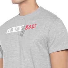Load image into Gallery viewer, Grey Printed T-Shirt-5