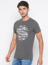Load image into Gallery viewer, Globus Charcoal Printed T-Shirt-2