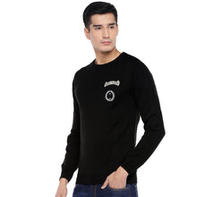 Load image into Gallery viewer, Black Printed Sweatshirt-2