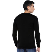 Load image into Gallery viewer, Black Printed Sweatshirt-3