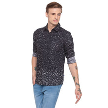 Load image into Gallery viewer, Abstract Print Black Shirt-2