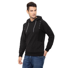 Load image into Gallery viewer, Globus Black Solid Sweatshirt-4