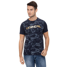 Load image into Gallery viewer, Globus Navy Blue Printed T-Shirt-1